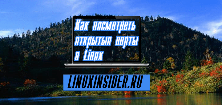 Как посмотреть открытые порты в Linux