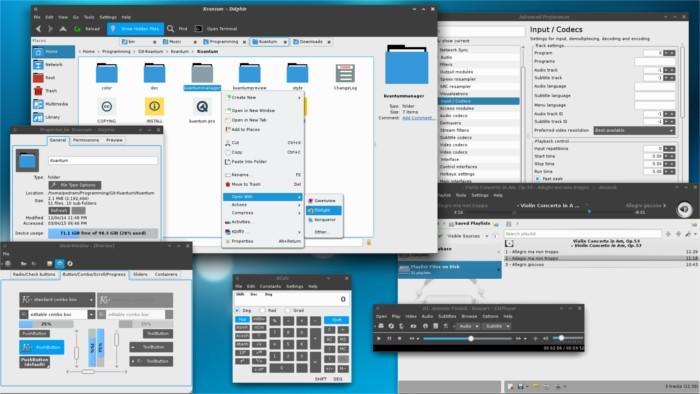 Лучшие темы KDE Plasma