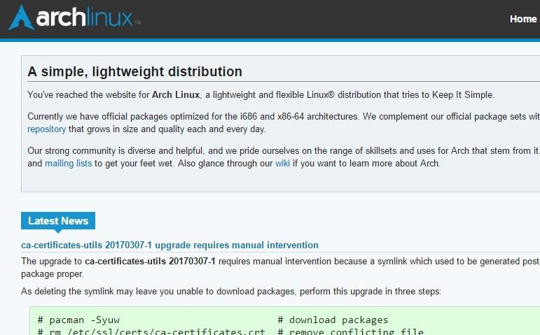 Как установить Arch Linux