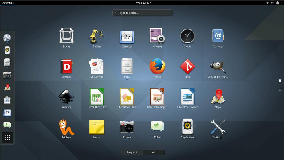 Установка Gnome в Ubuntu 16.04