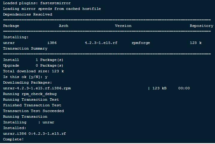 Как распаковать RAR в Linux — как открыть архив