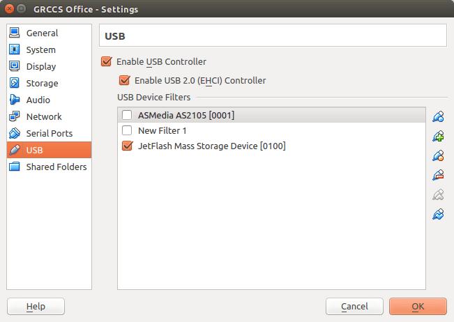 VirtualBox не видит USB в Ubuntu
