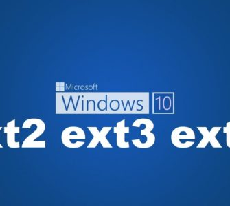 Подключение EXT4 в Windows 7/8/8.1/10