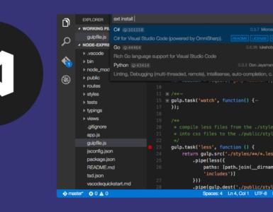 Установка Visual Code и Net Core 1.0 Ubuntu 16.04