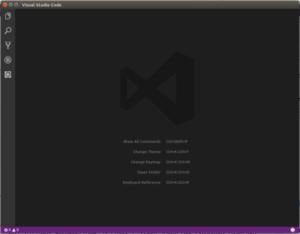 Рисунок 1: Основной интерфейс Visual Studio Code